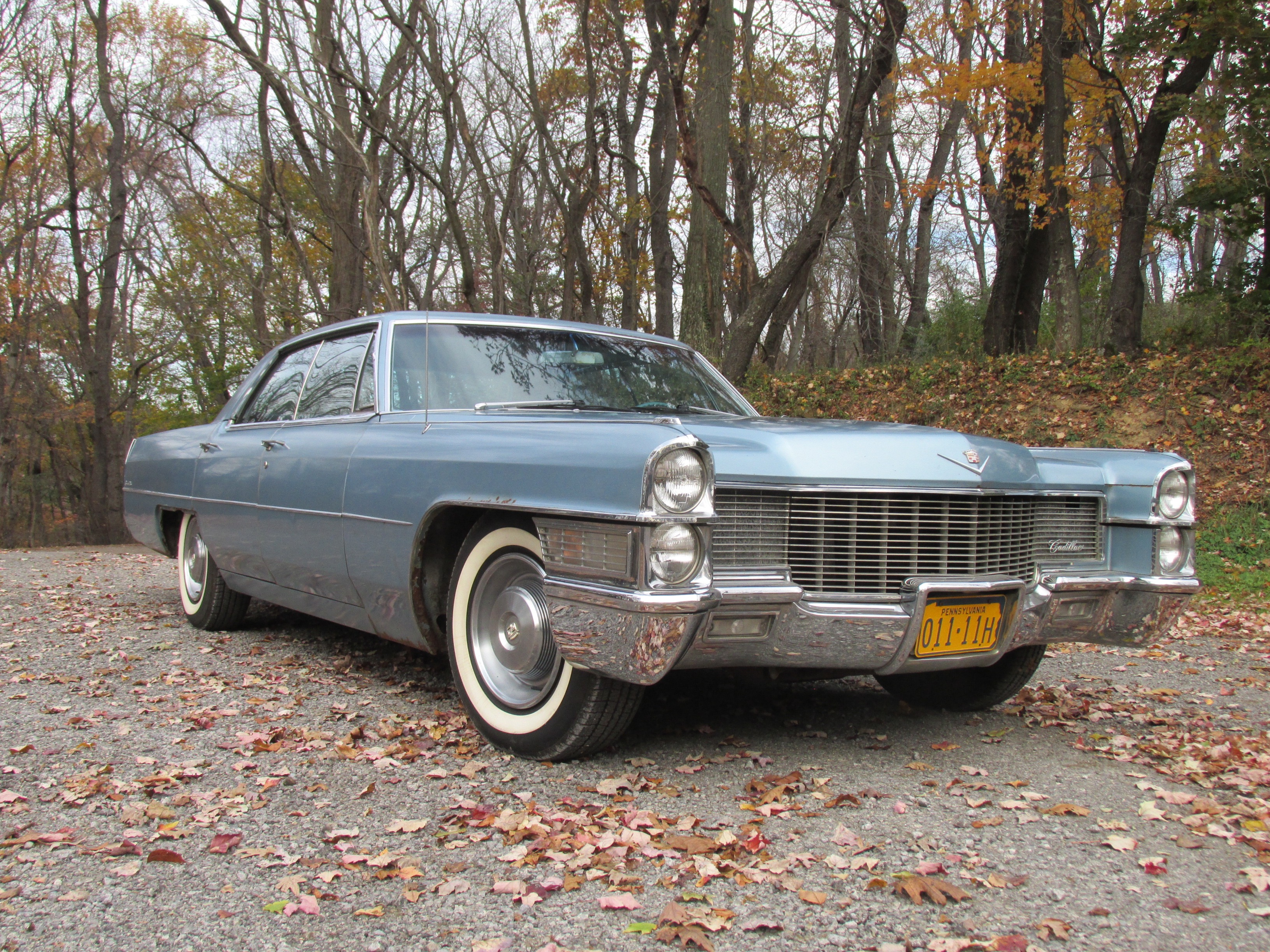 1965 cadillac sedan deville fort pitt classic cars. Black Bedroom Furniture Sets. Home Design Ideas