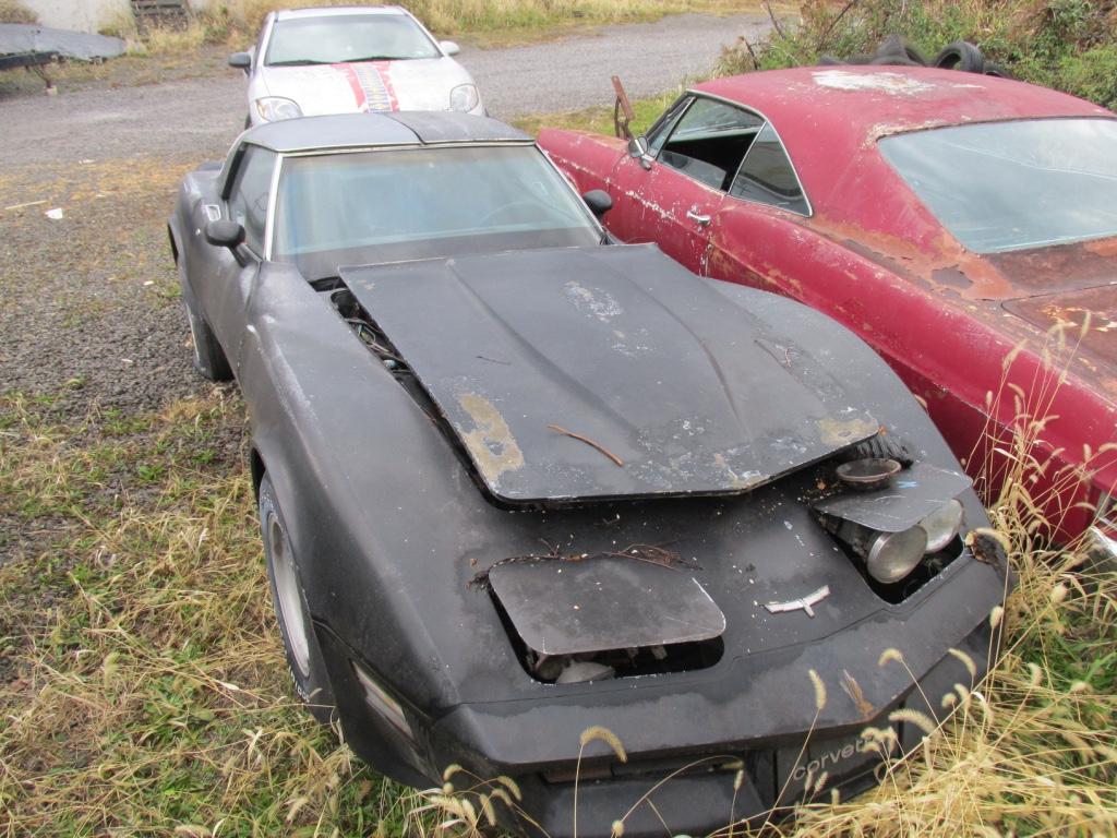 1980 Chevrolet Corvette Project - Fort Pitt Classic Cars