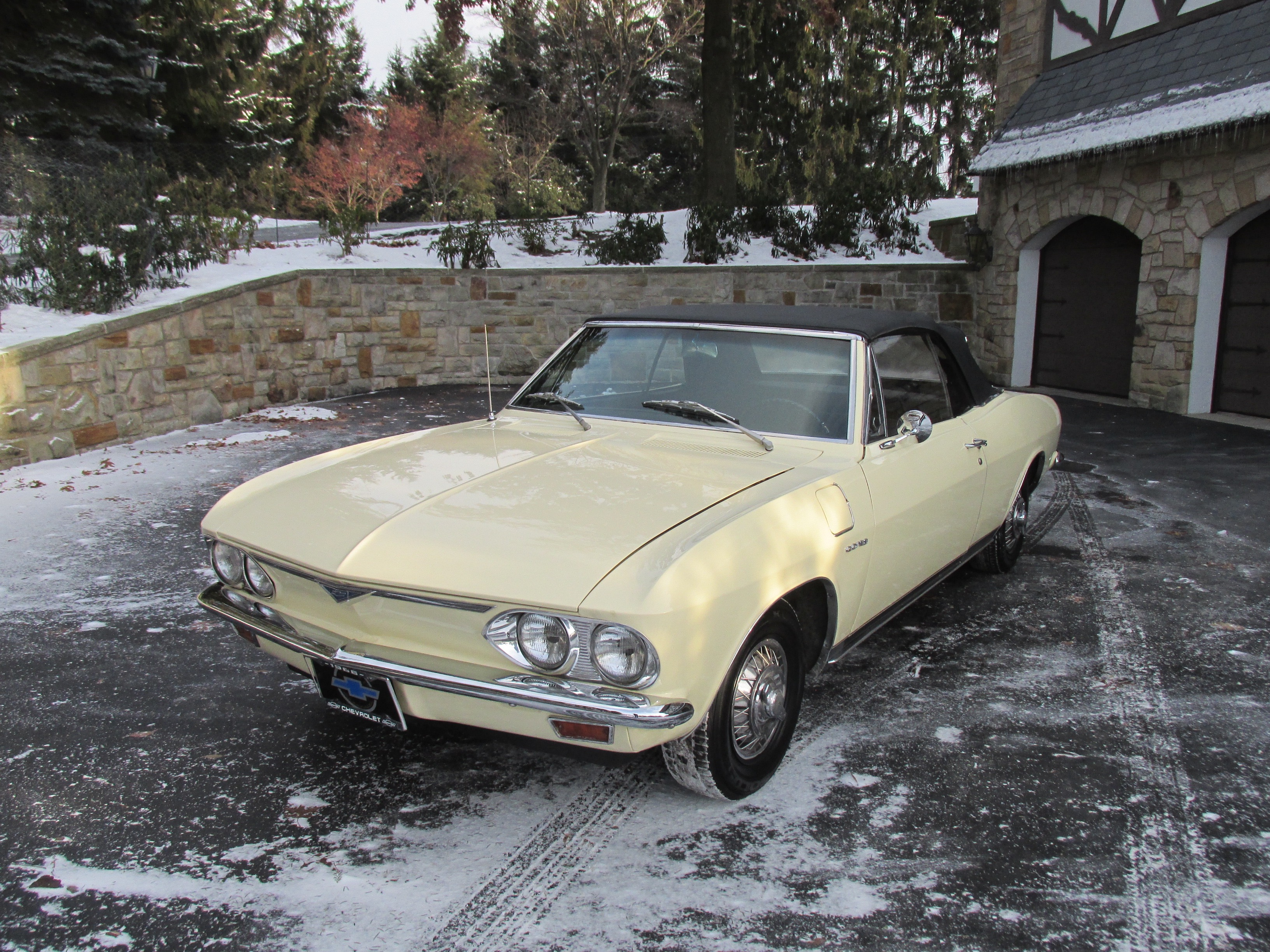1966 Chevrolet Corvair Corsa Convertible - Fort Pitt Classic Cars